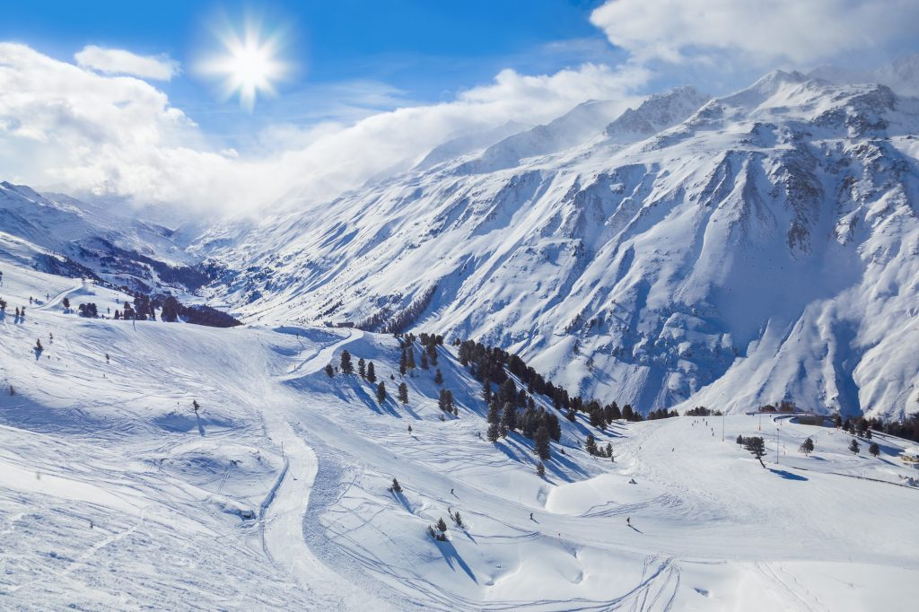 montagnes autrichiennes paysages