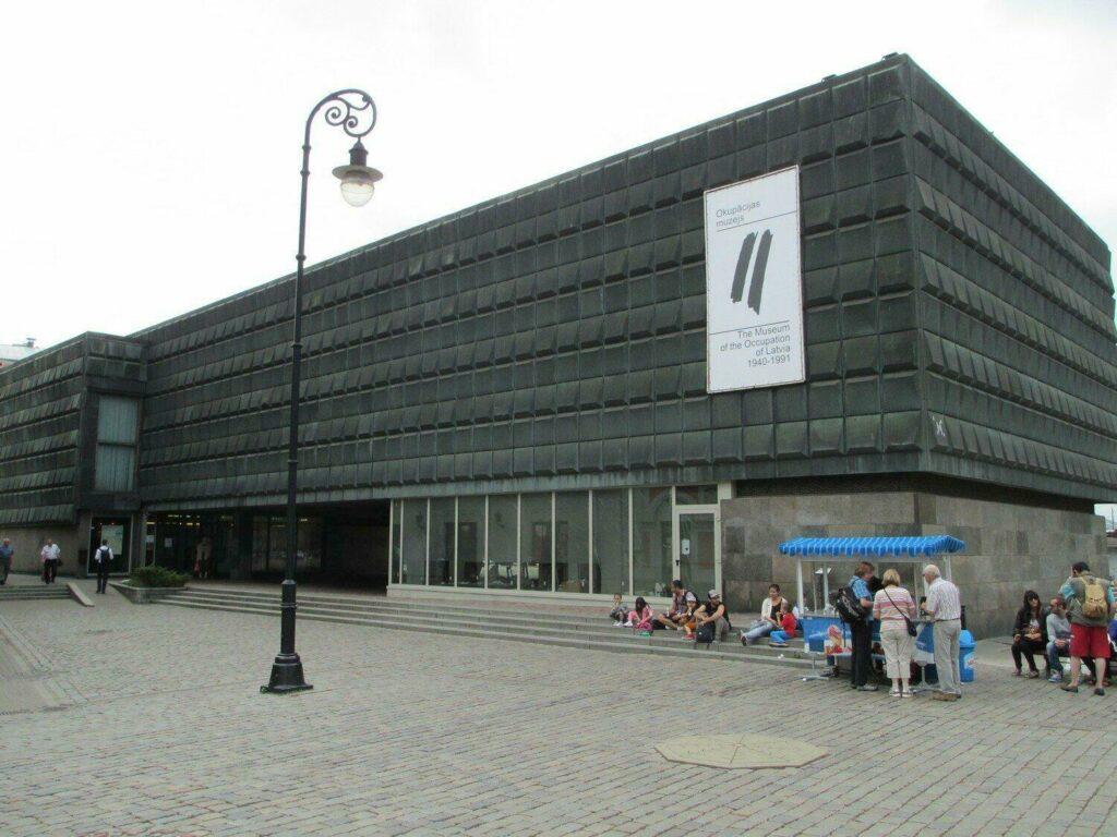 musée occupation Riga