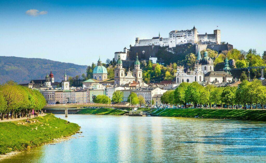 Salzbourg paysages de l'Autriche