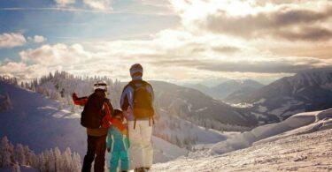 Les Alpes en hiver et en famille