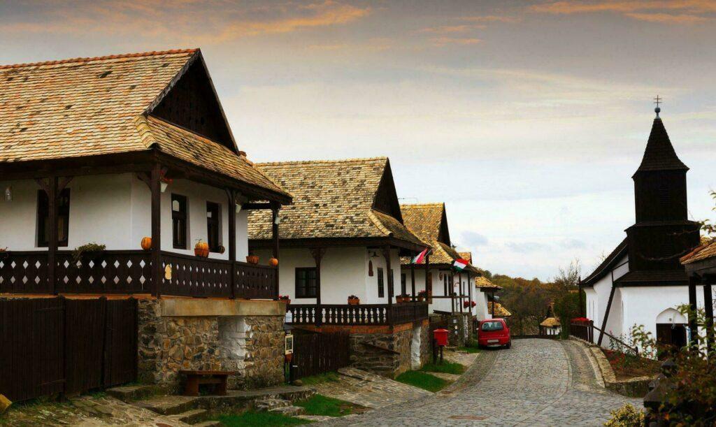 village hongrois Holloko