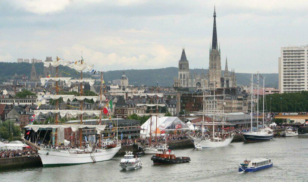 Rouen pendant l'Armada