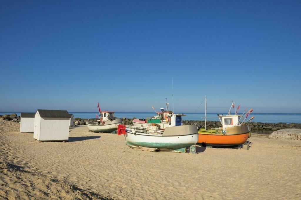 bateaux pêche Lonstrup