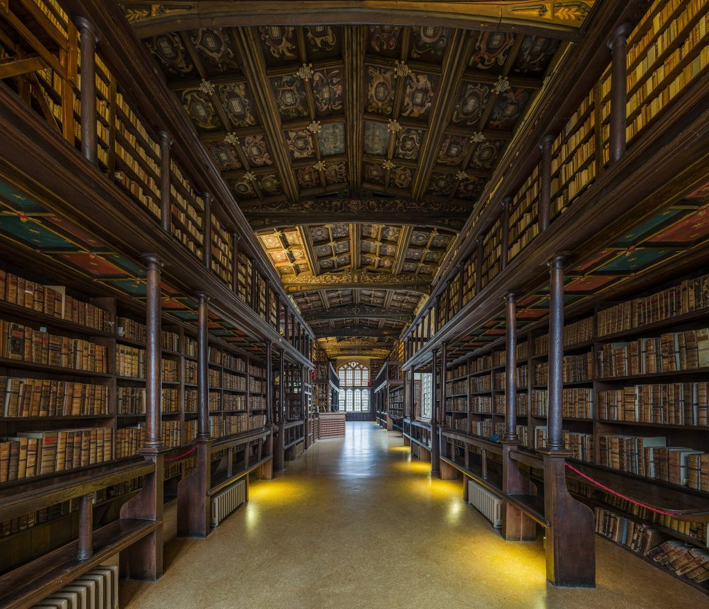 bibliothèque Bodleian Oxford