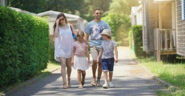 Vacances au camping familial