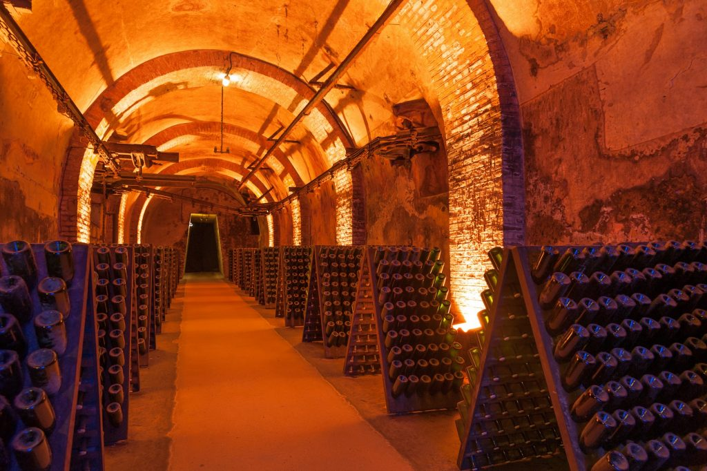 cave champagne Reims