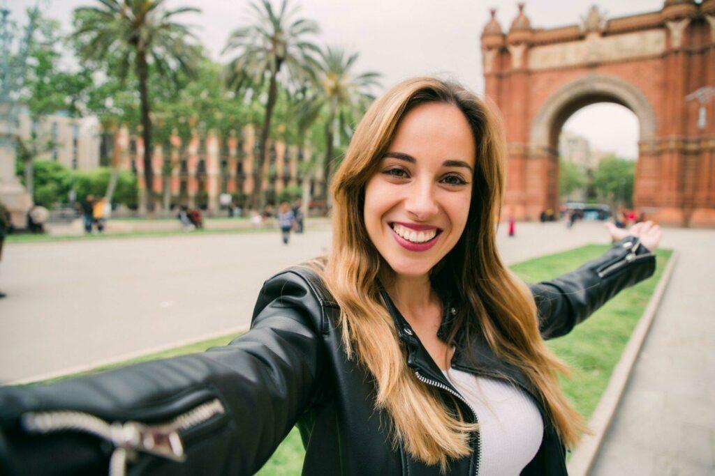 Draguer une fille à Barcelone
