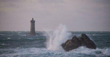Le Finistère sous la pluie