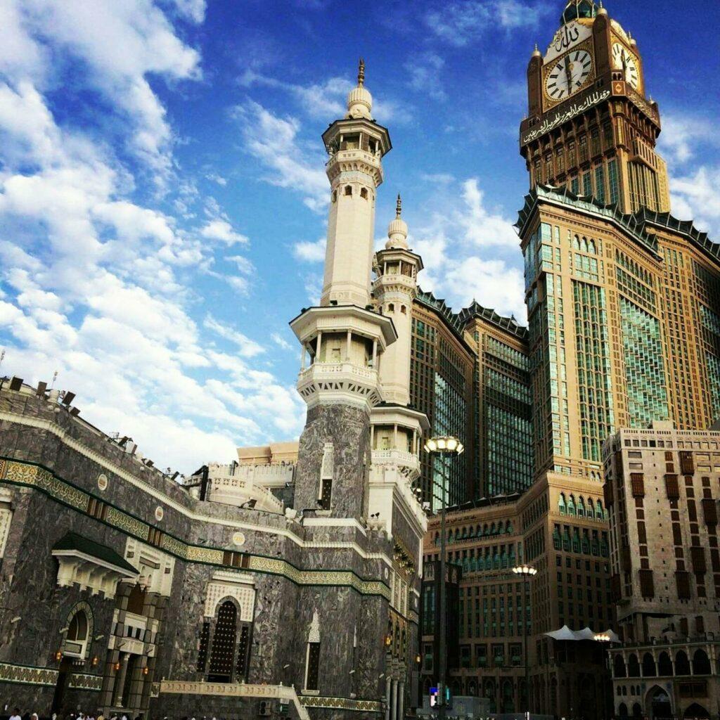 Abraj Al-Bait Towers en Arabie Saoudite