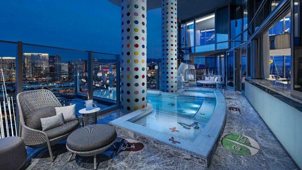 La chambre la plus chère au Palms Casino Resort, Las Vegas