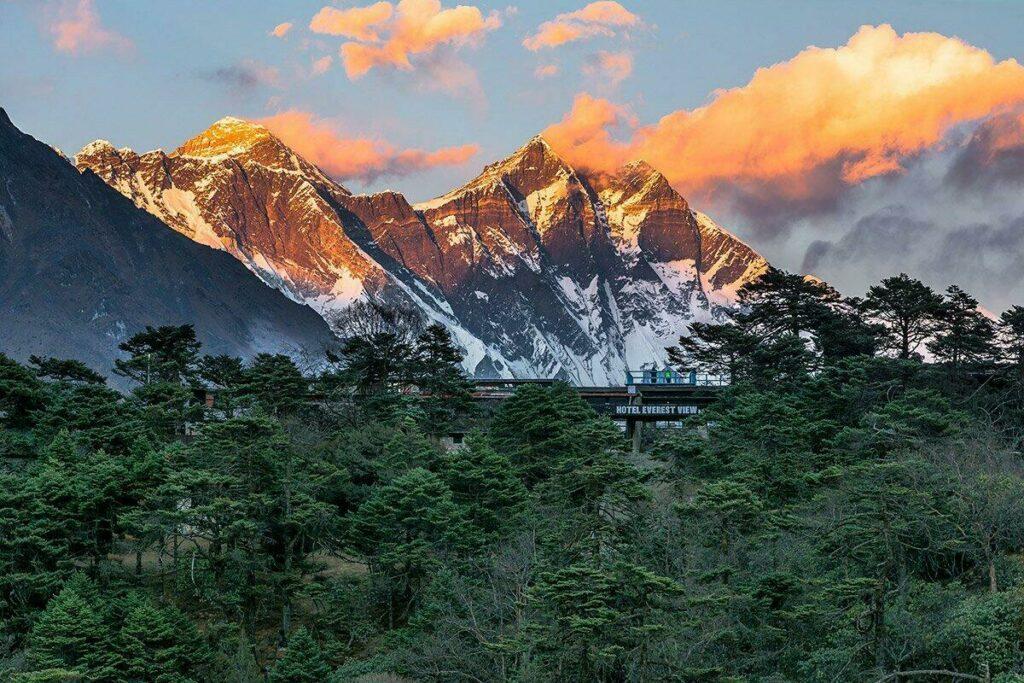 L'hôtel Everest View au Népal