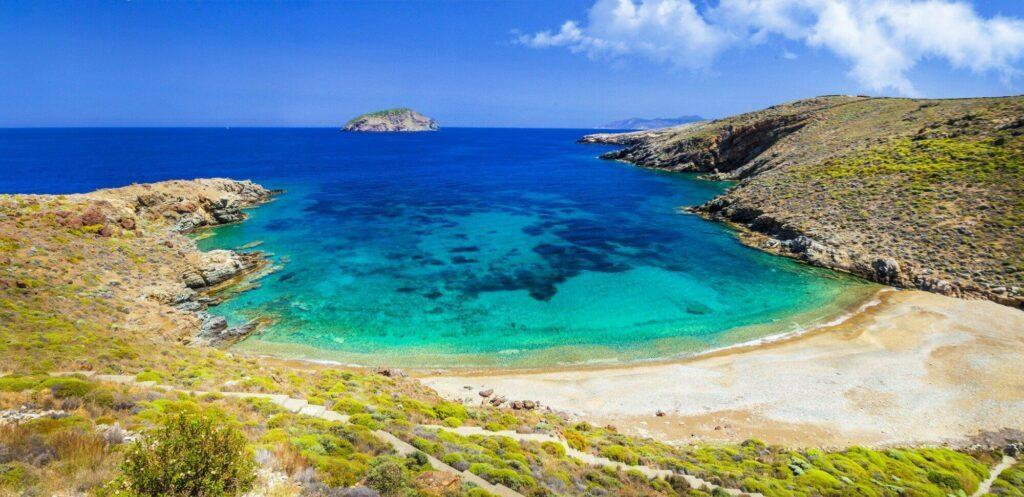 L'île de Sérifos en Méditerranée