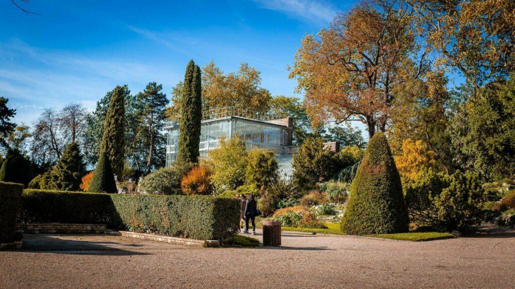 jardin des plantes à Rouen