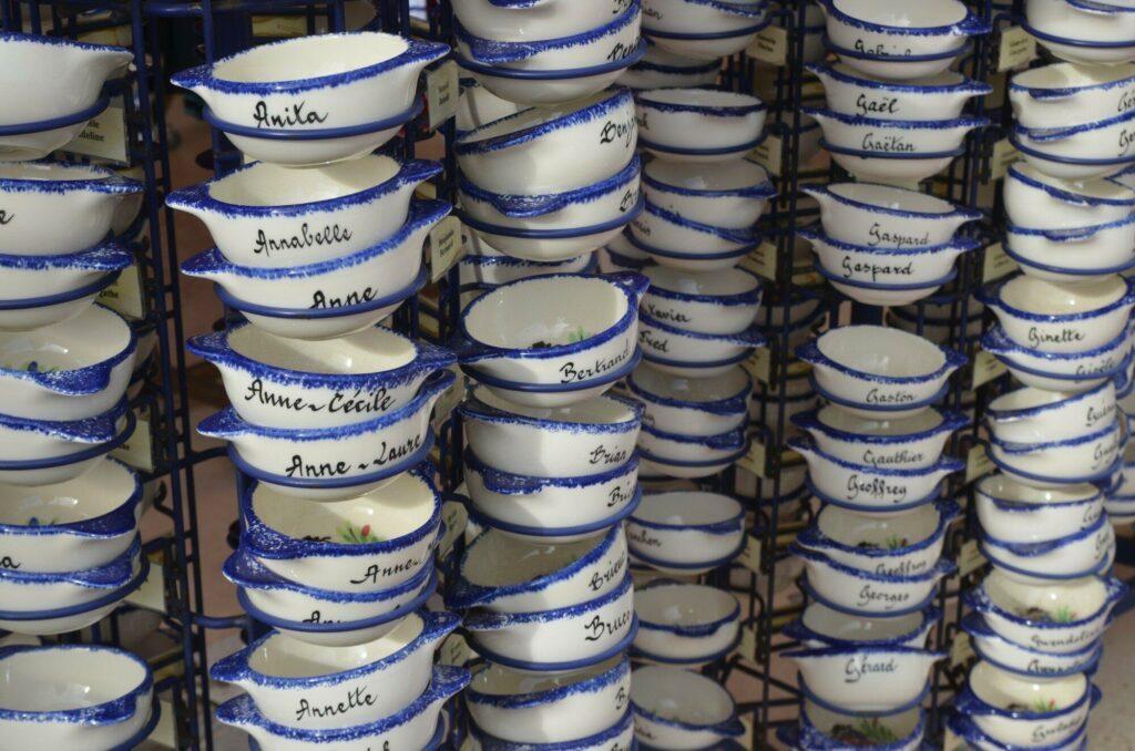 les célèbres bols bretons