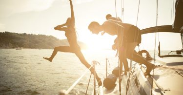 Louer un bateau entre amis