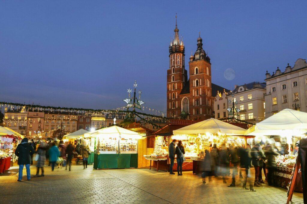 marché Cracovie