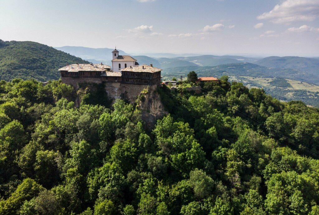 monastère de Glozhene