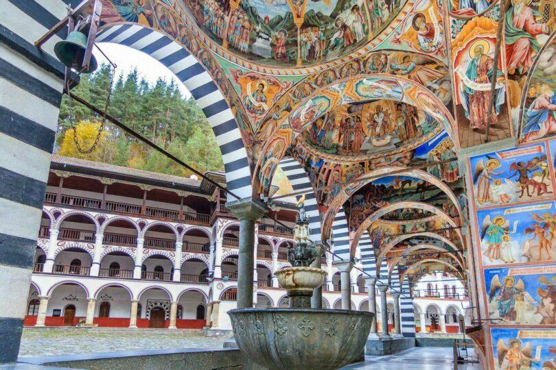 monastères bulgares