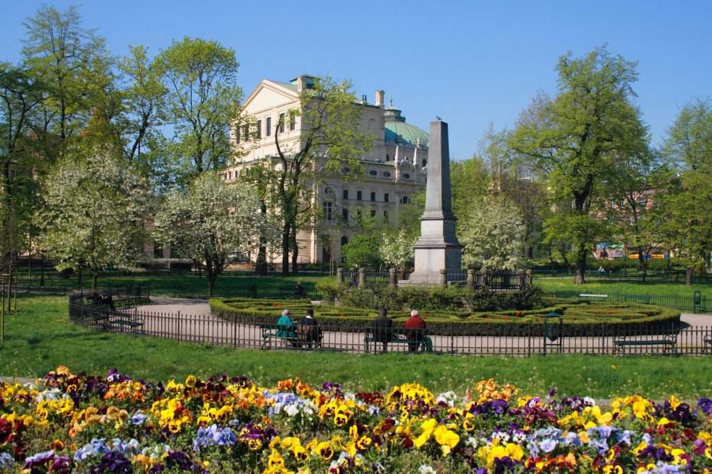 parc Planty à faire à Cracovie