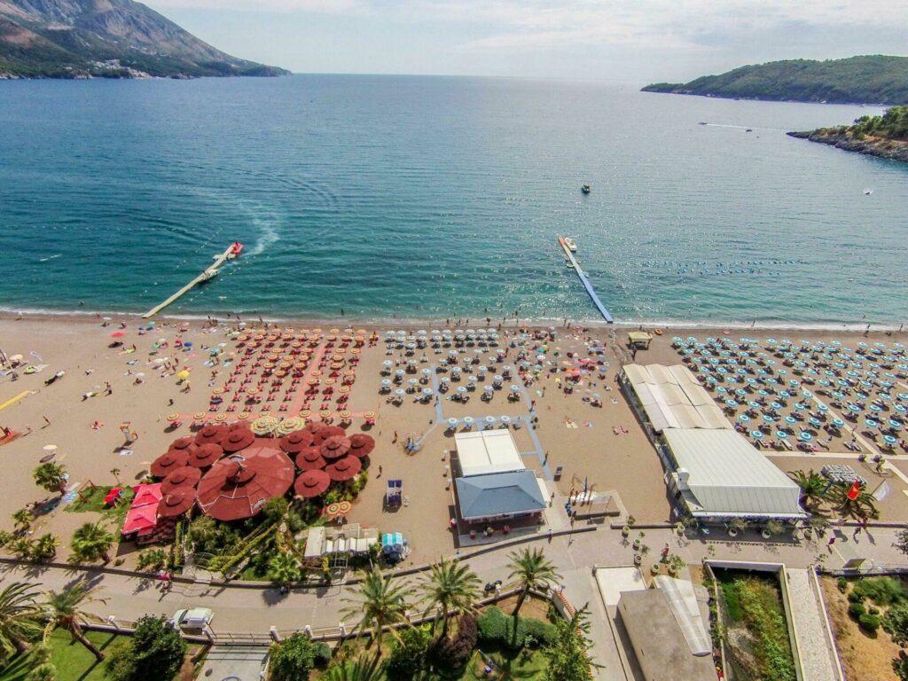 plage de Becici