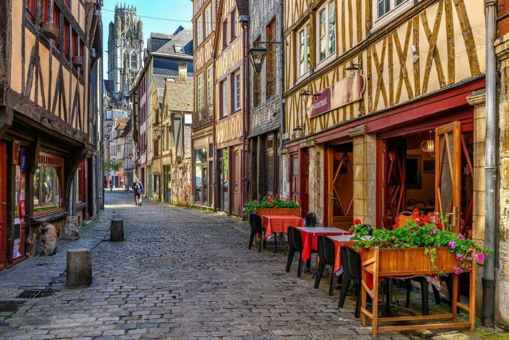 ruelle de Rouen