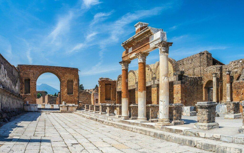 ruines Pompéi