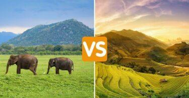 Sri Lanka ou Vietnam