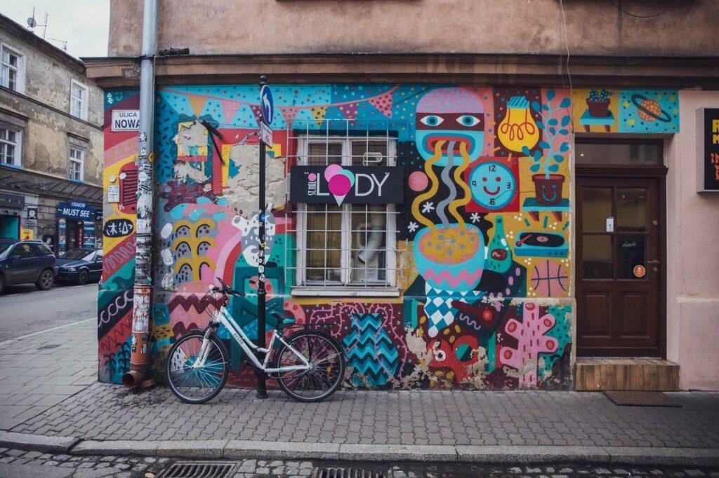 street-art Cracovie