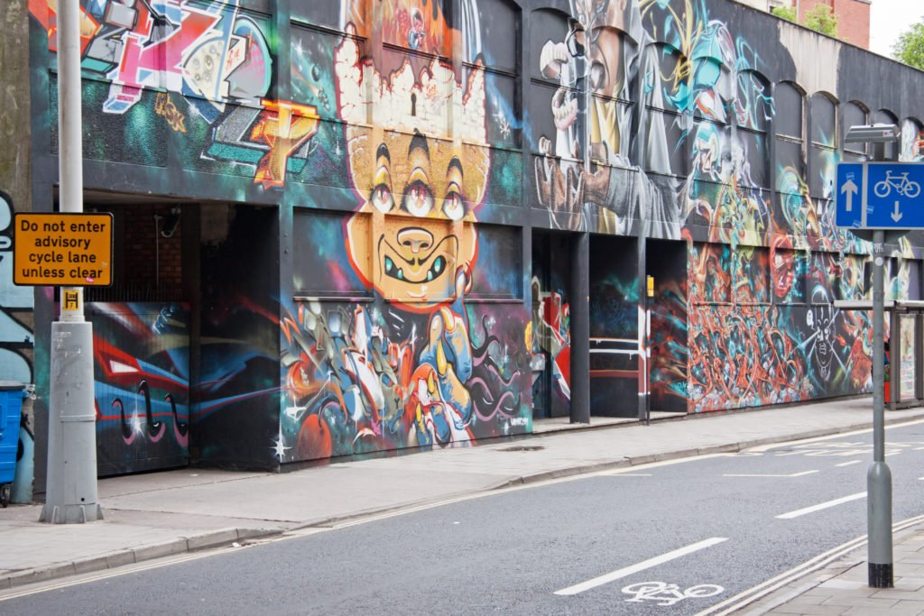 Street Art dans Bristol