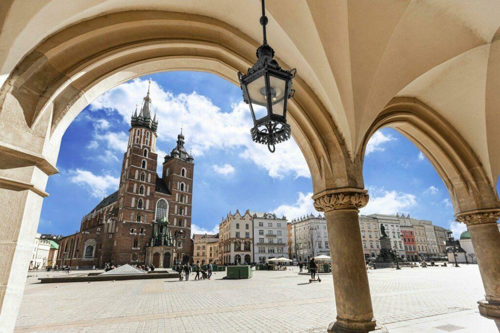 vieille ville Cracovie