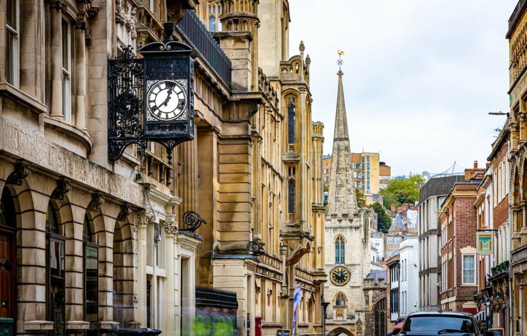 vieille ville de Bristol