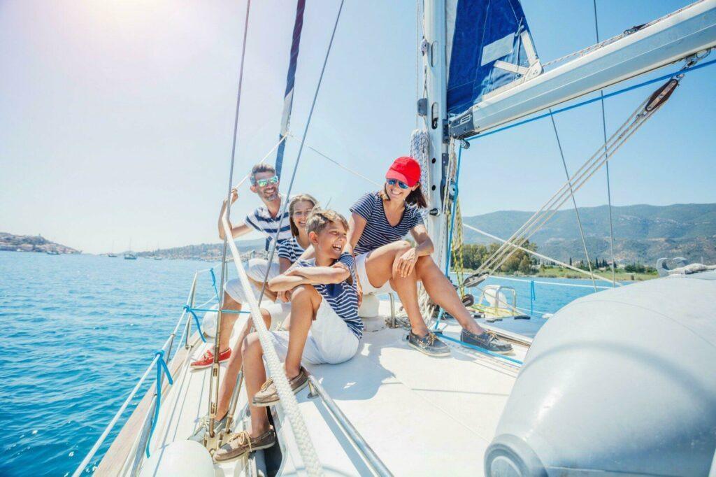 Une aventure en voilier avec ses enfants