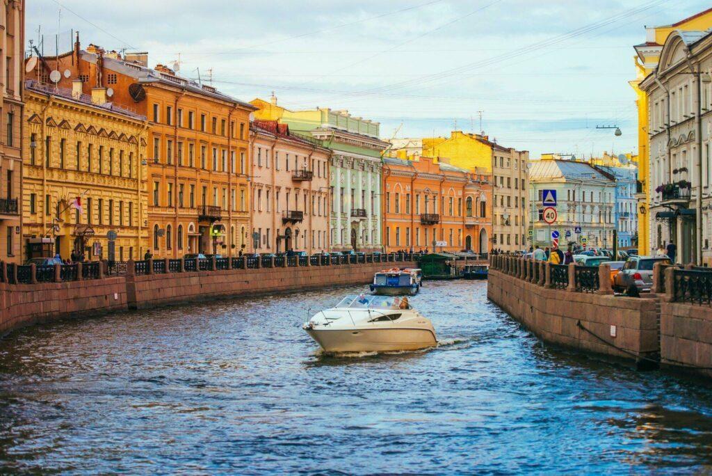 canal Saint-Pétersbourg