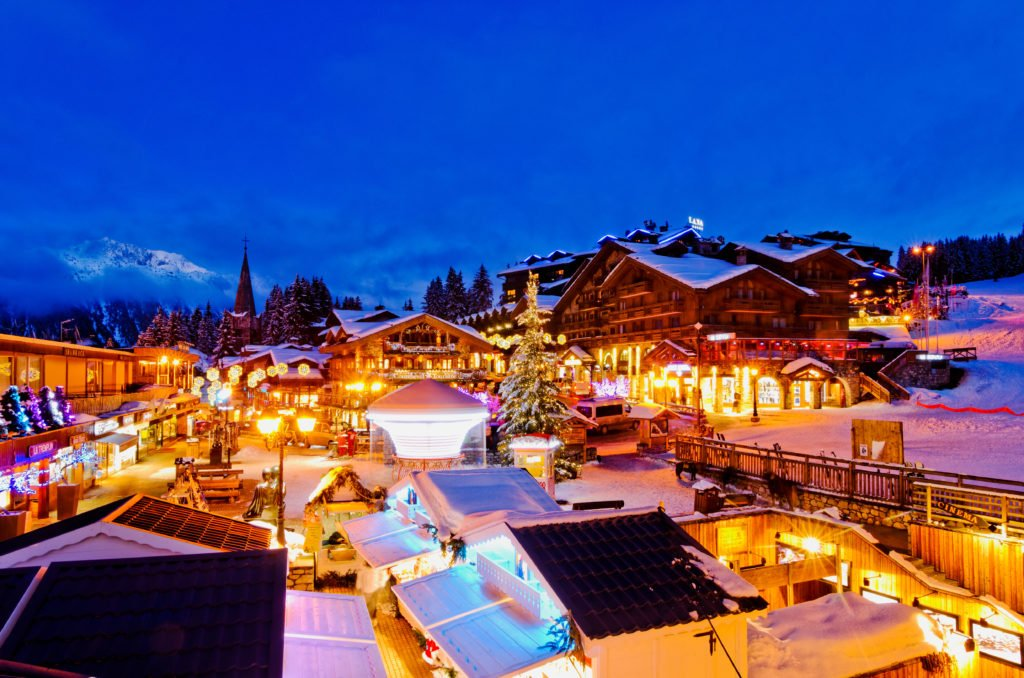Courchevel la nuit