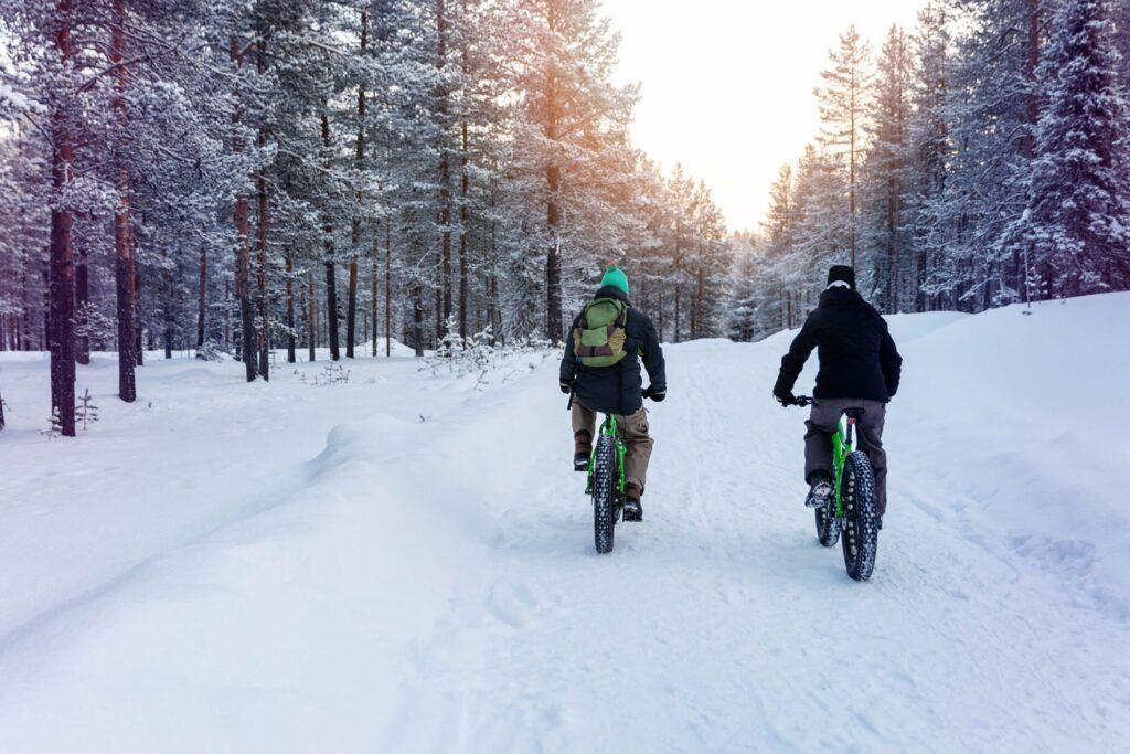 faire du vélo en Finlande