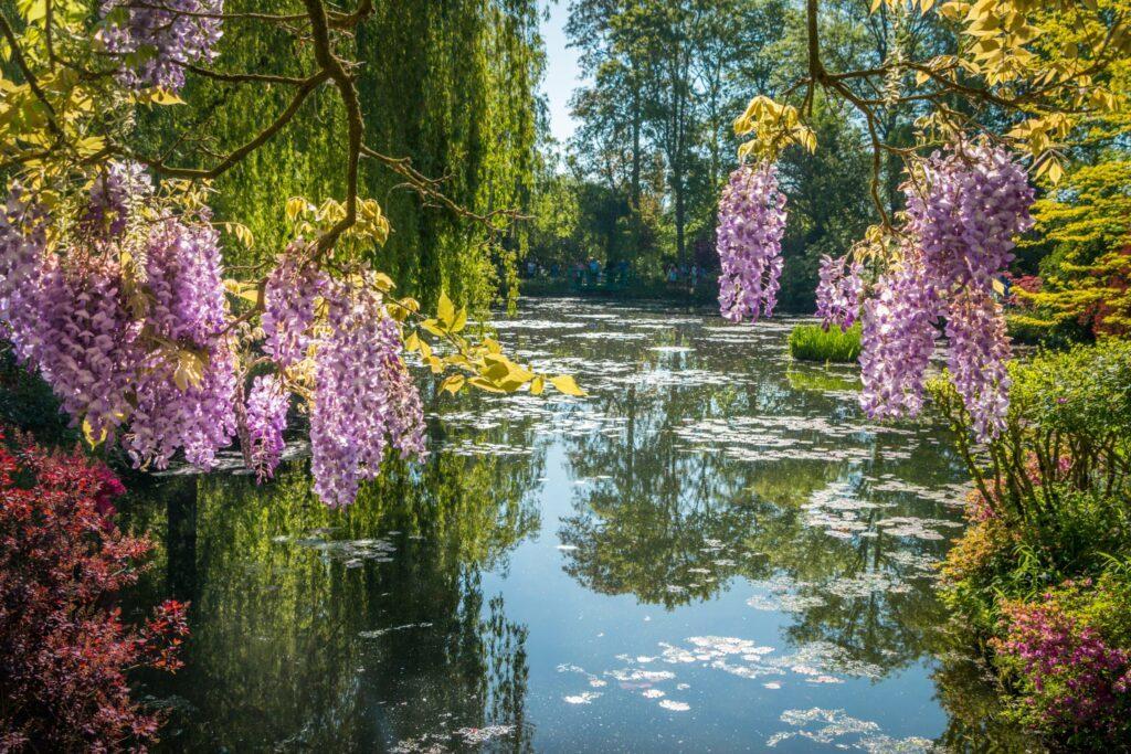 Les fameux jardins de Giverny