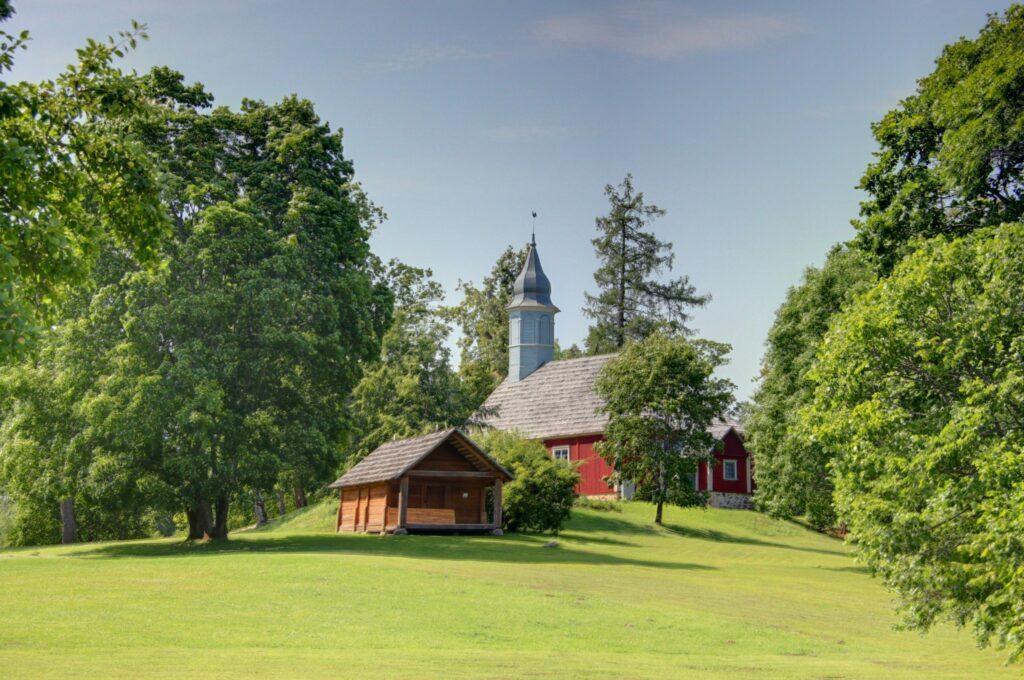 maison en lettonie