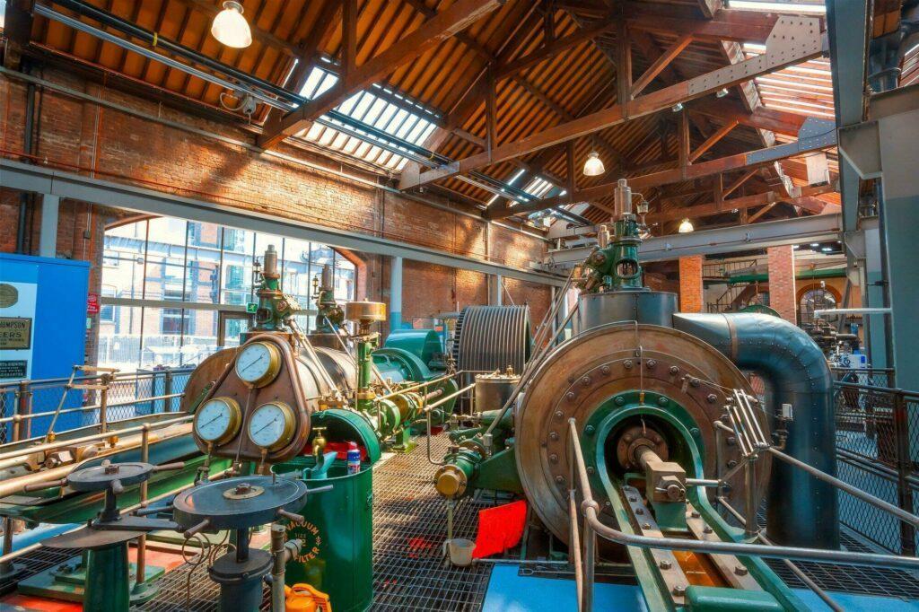 musée des Sciences et de l'Industrie à Manchester