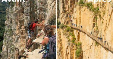 Photo de voyage du Caminito del Rey en Andalousie (Espagne)