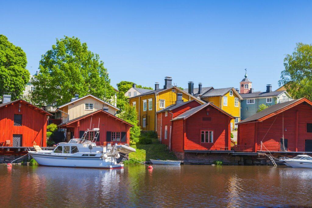 Porvoo Finlande été
