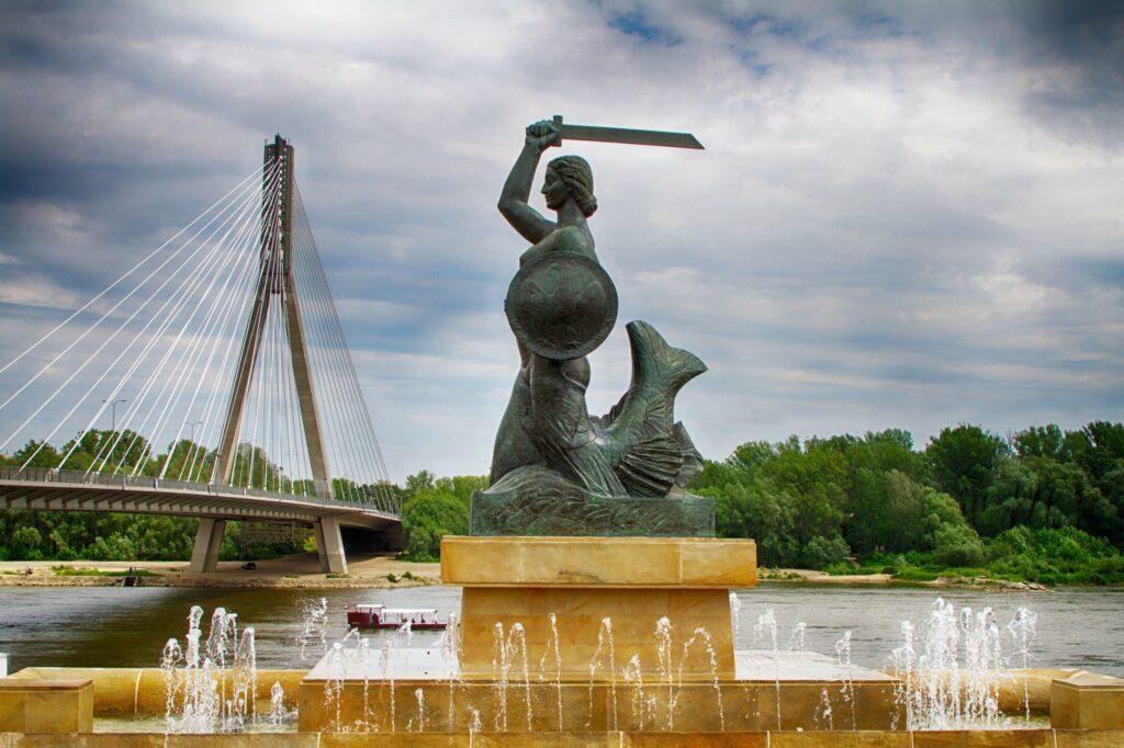 rive Vistule Varsovie