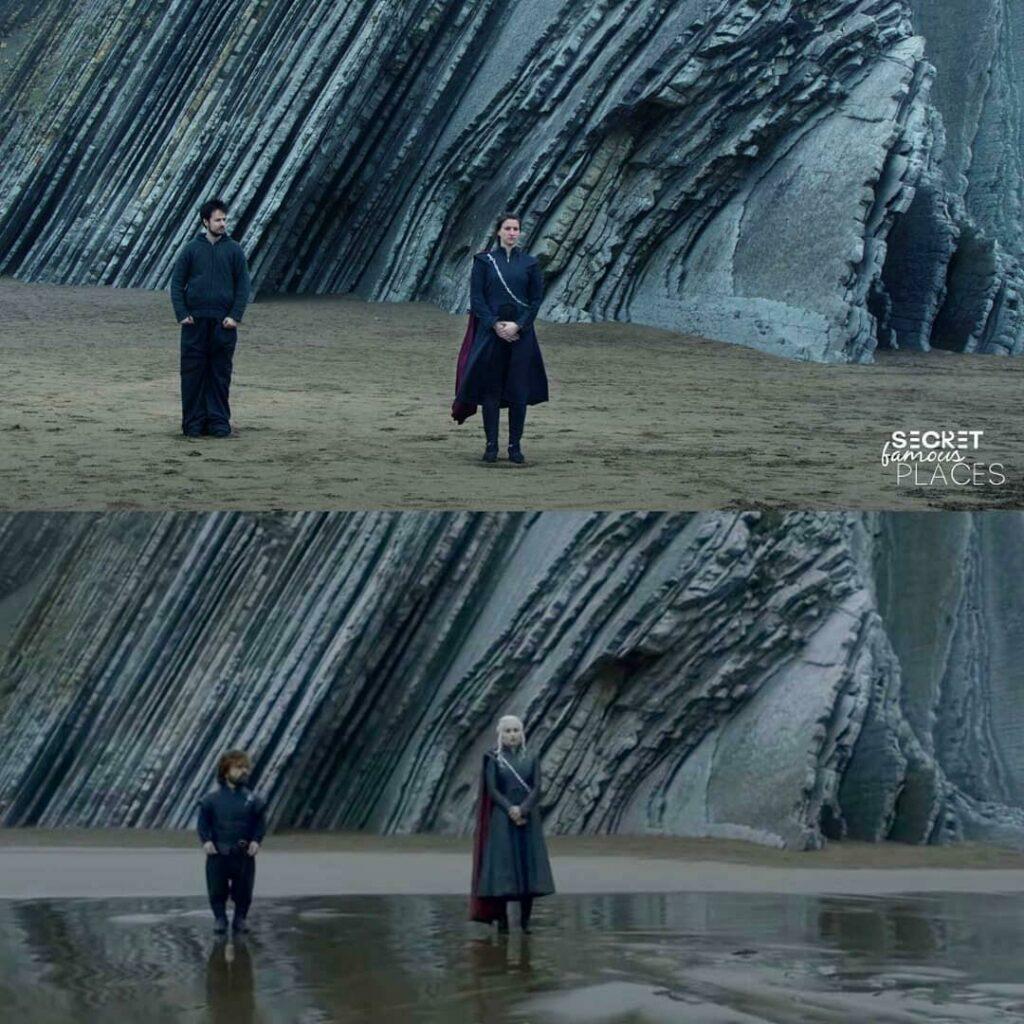 Le couple reproduit une scène de Game of Thrones en Espagne