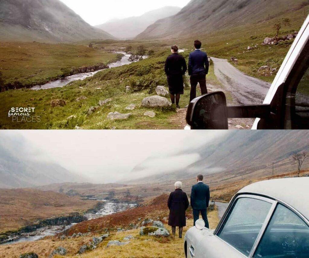 Glen Etive : En Ecosse pour une scène de James Bond (Skyfall)