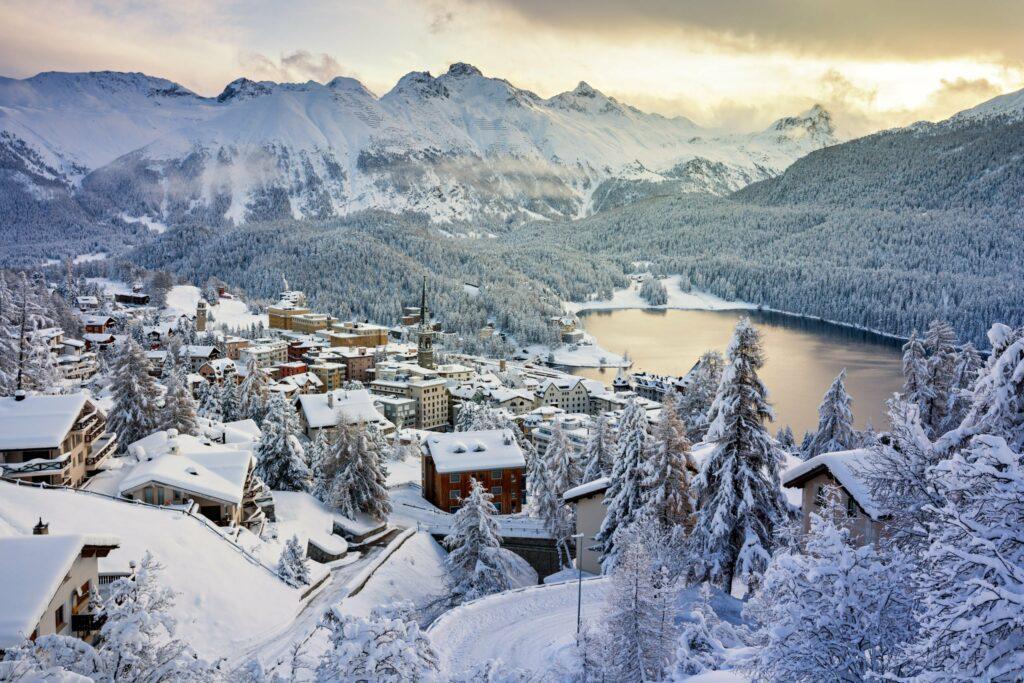 St. Moritz en Suisse