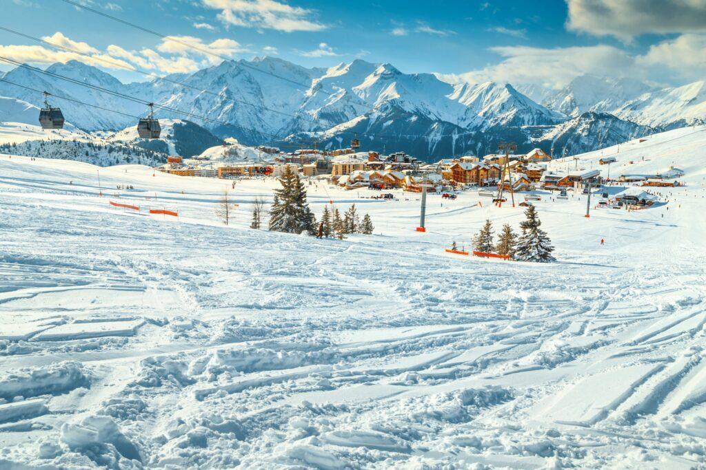 station Alpe d'Huez