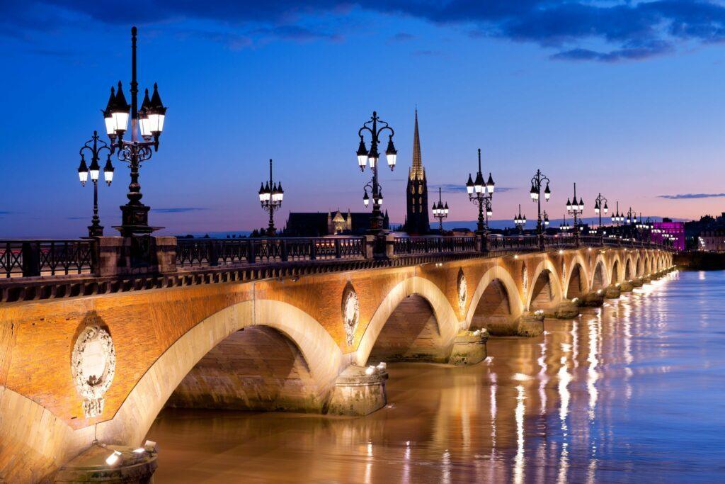 Bordeaux le soir