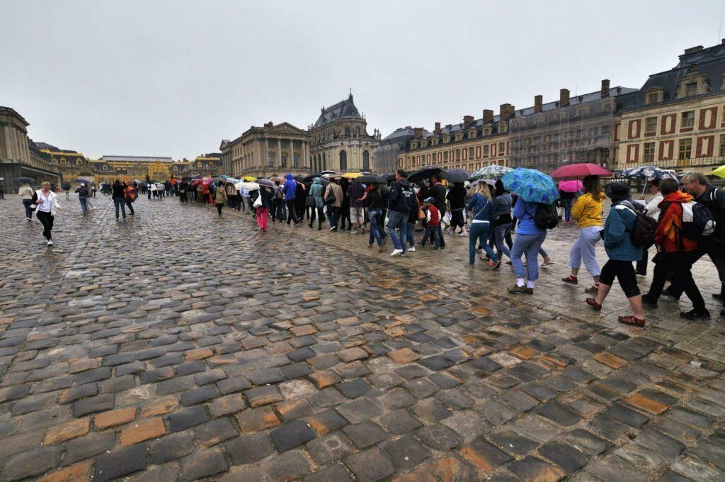 Conseils pour éviter la foule au château de Versailles