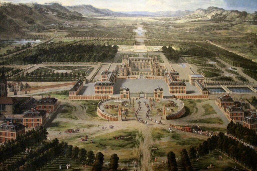 Le domaine de Versailles à l'époque