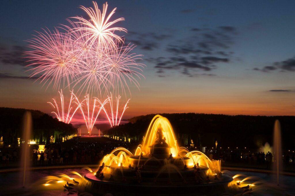 Profitez des spectacles du château de Versailles