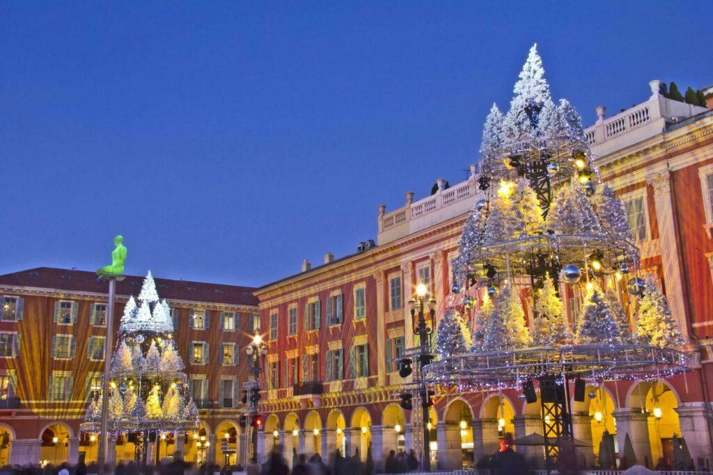 Décorations de Noël à Nice